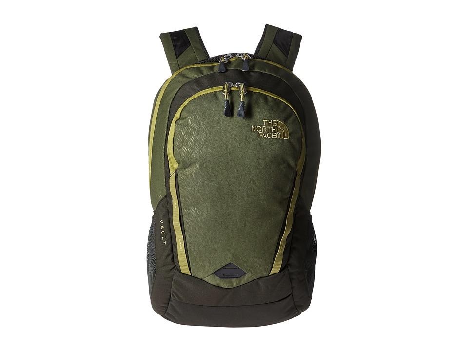The North Face - Vault (Terrarium Green Emboss/Lemongrass Green) Backpack Bags