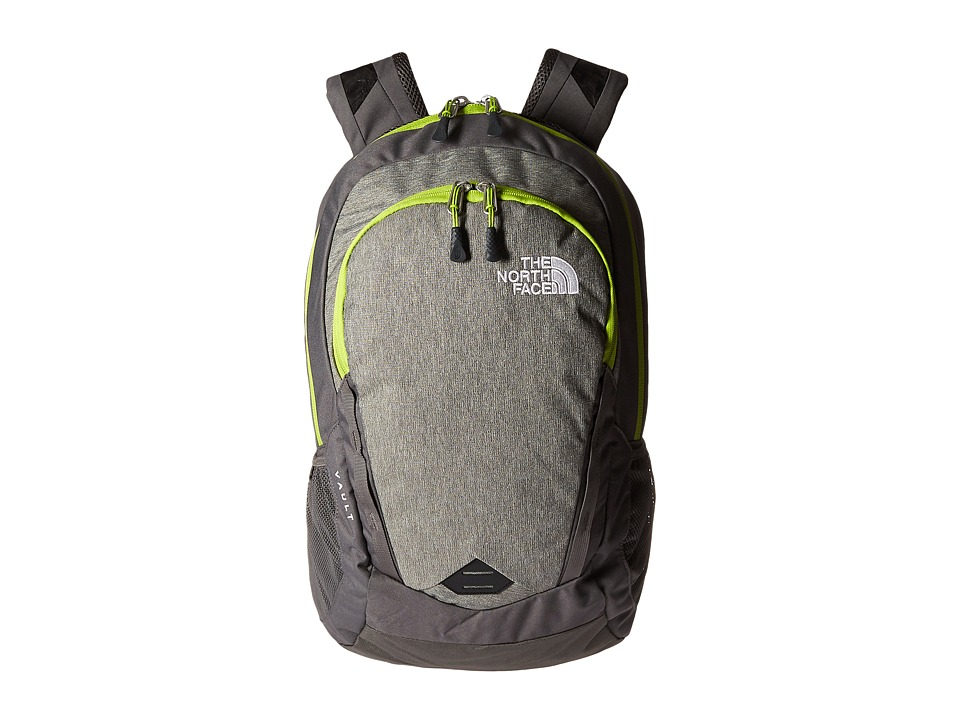The North Face - Vault (London Fog Heather/Chive Green) Backpack Bags