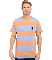 U.S. POLO ASSN. - Rugby Stripe V-Neck T-Shirt