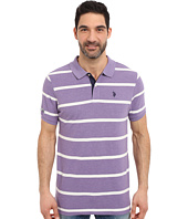 U.S. POLO ASSN. - Stripe Pique Polo Shirt