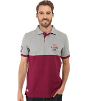U.S. POLO ASSN. - Color Blocked Embellished Pique Polo Shirt