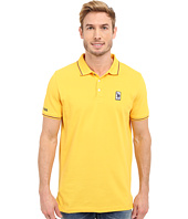 U.S. POLO ASSN. - Solid Pique Polo Shirt w/ Color Tipped Collar & Cuffs