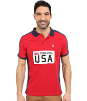 U.S. POLO ASSN. - Sporty Authentic Slim Fit Pique Polo Shirt
