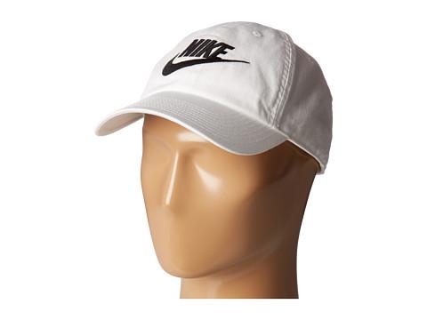 Nike Washed Heritage 86 - White/White/Black