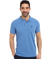 U.S. POLO ASSN. - Solid Polo Shirt w/ Small Pony