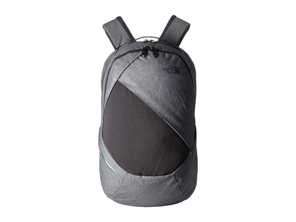 The North Face - Isabella Backpack (TNF Medium Grey Heather/Ice Green) Backpack Bags