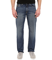 U.S. POLO ASSN. - Authentic Five-Pocket Straight Leg Denim Jeans in Blue