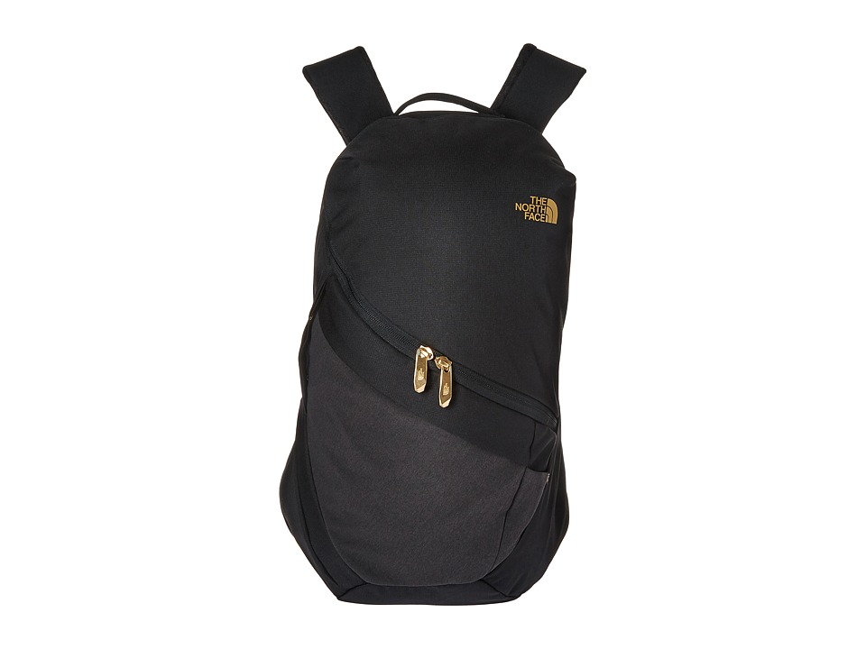 The North Face - Aurora Backpack (TNF Black Heather/24k Gold) Backpack Bags