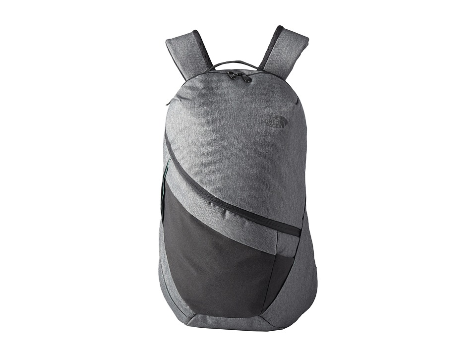 The North Face - Aurora Backpack (TNF Medium Grey Heather/Ice Green) Backpack Bags