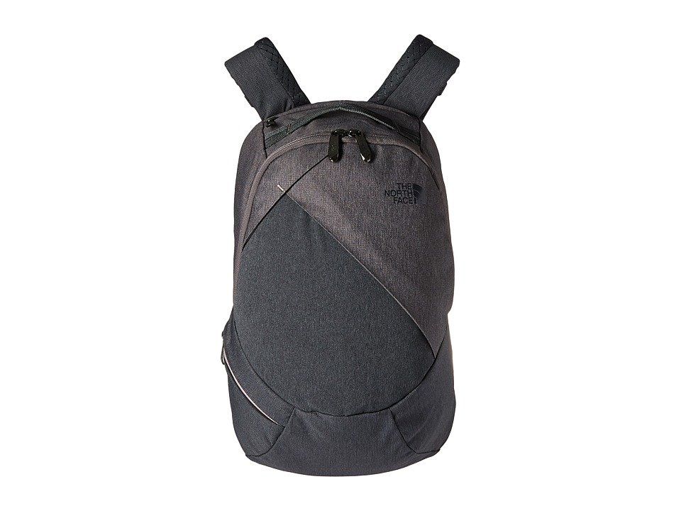 The North Face - Electra Backpack (Rabbit Grey Black Heather/Quail Heather) Backpack Bags