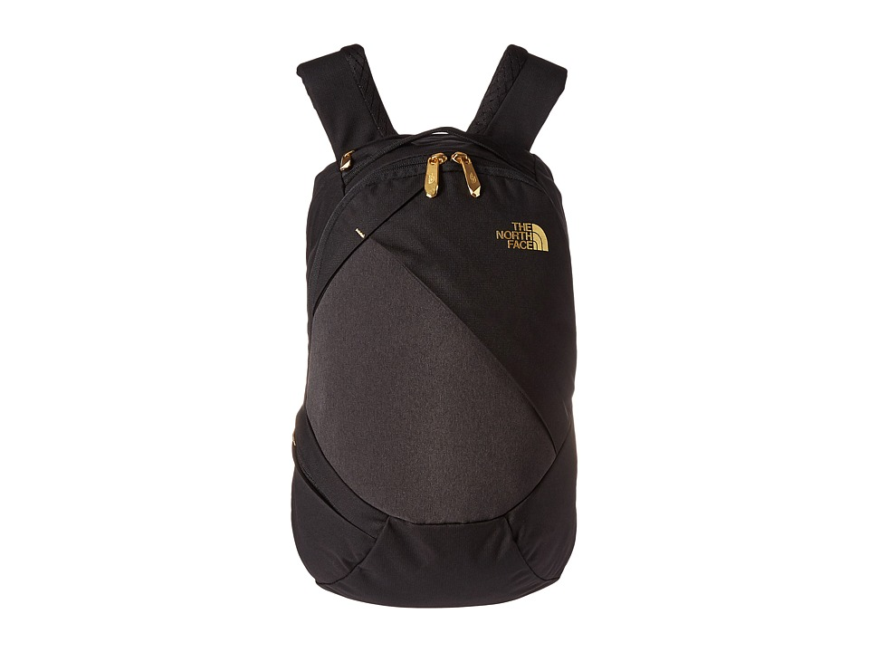 The North Face - Electra Backpack (TNF Black Heather/24k Gold) Backpack Bags