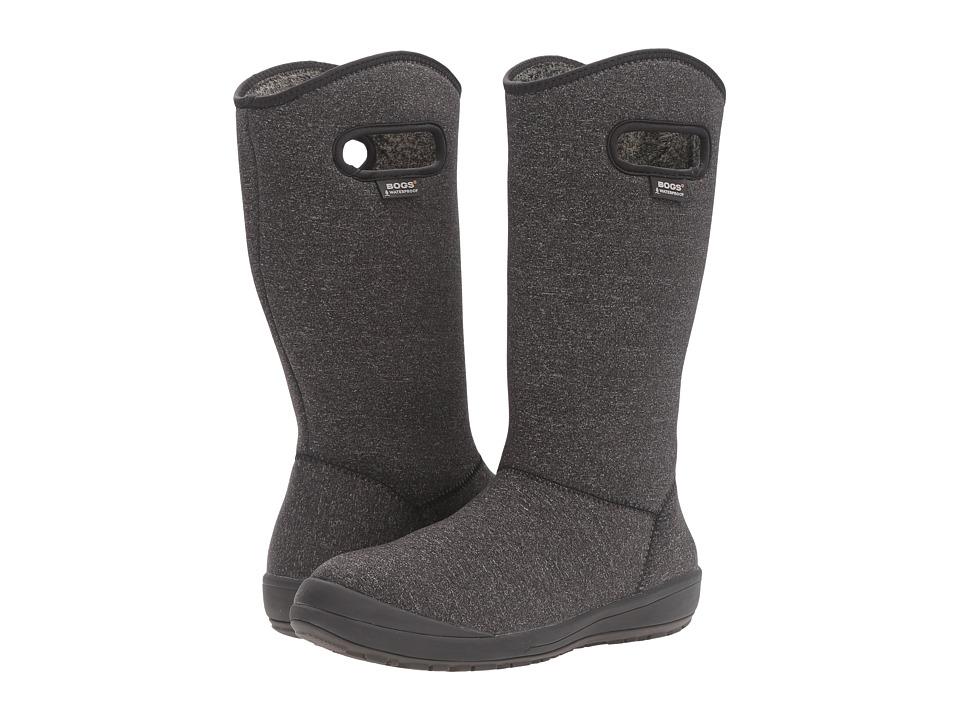 Bogs Charlie Melange (Black Multi) Women's Waterproof Boots