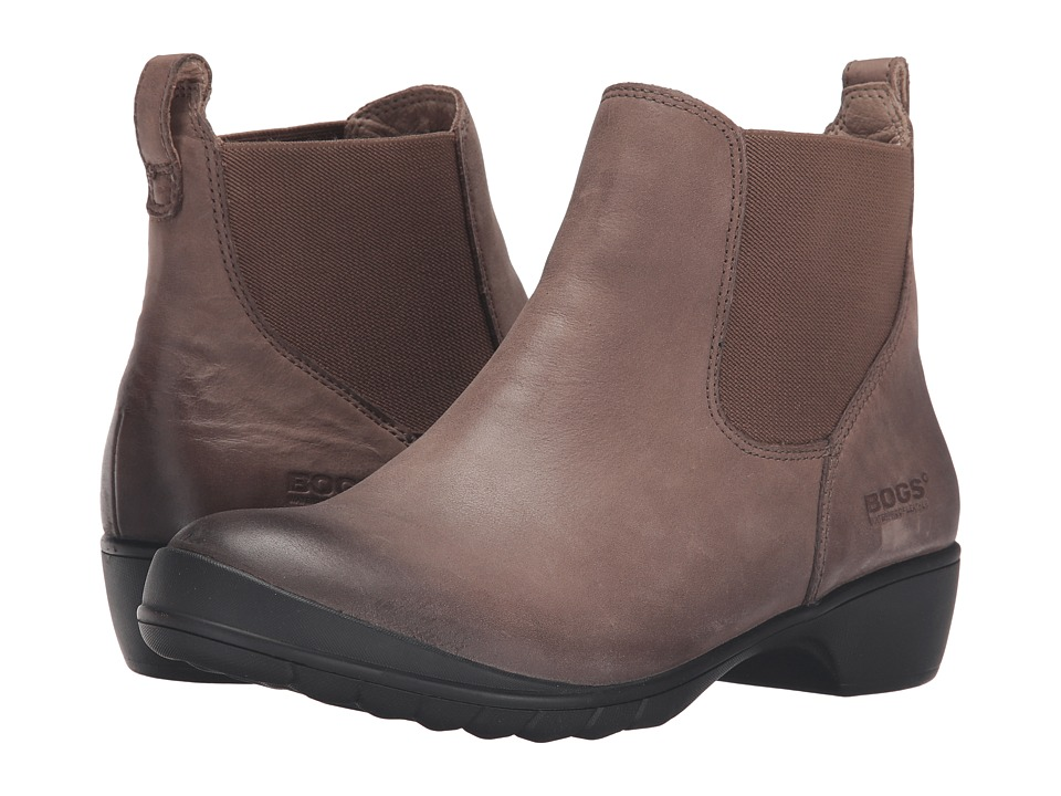 Bogs Carrie Slip-On Boot (Taupe) Women