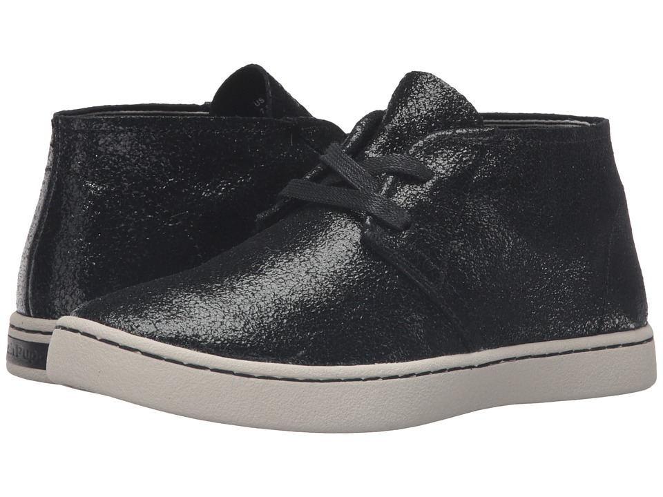 Hush Puppies - Cille Gwen (Black Crackled Suede) Women
