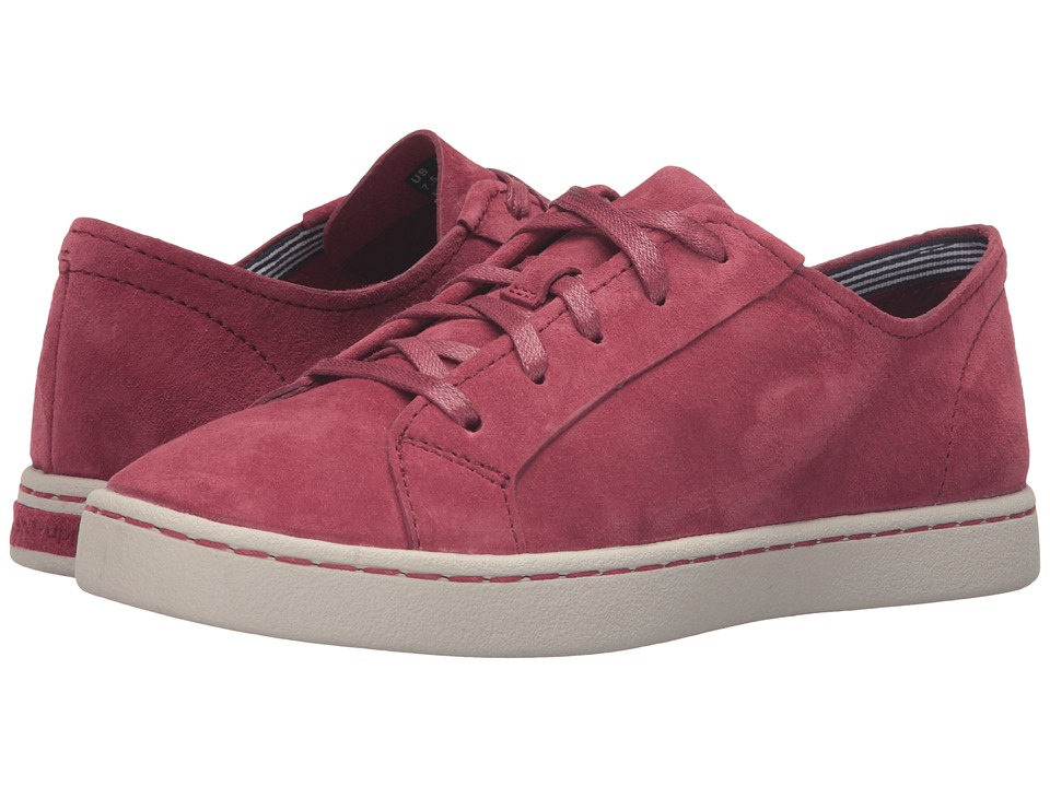 Hush Puppies - Ekko Gwen (Dark Red Suede) Women