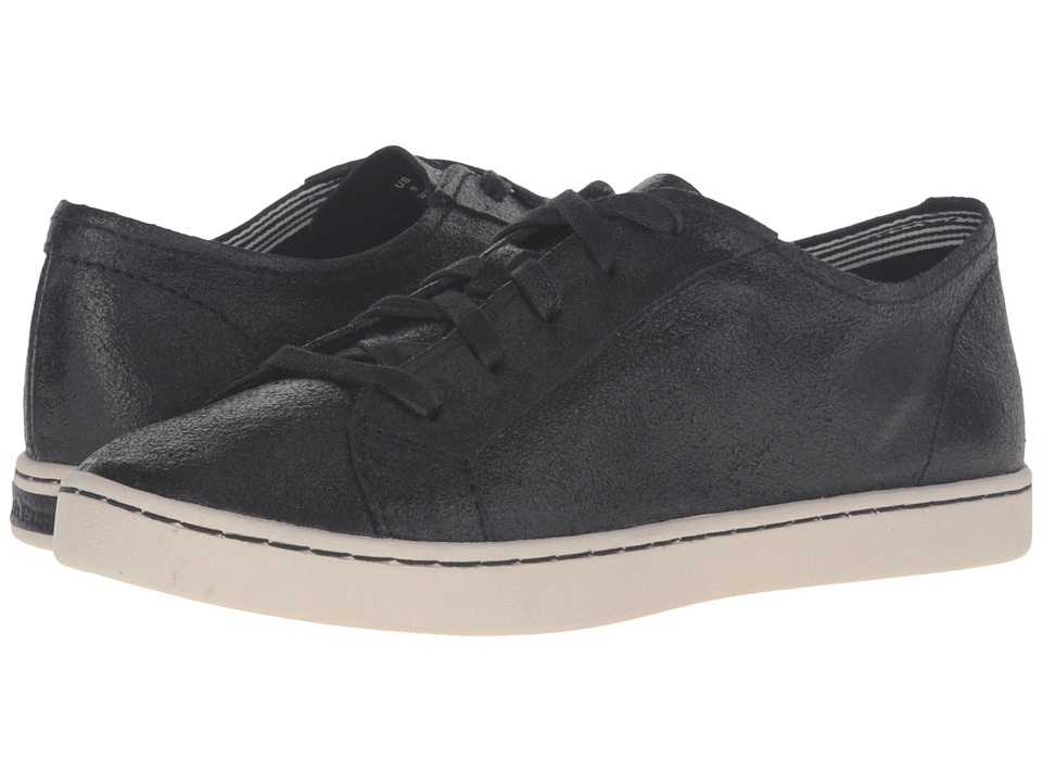 Hush Puppies - Ekko Gwen (Black Crackled Suede) Women