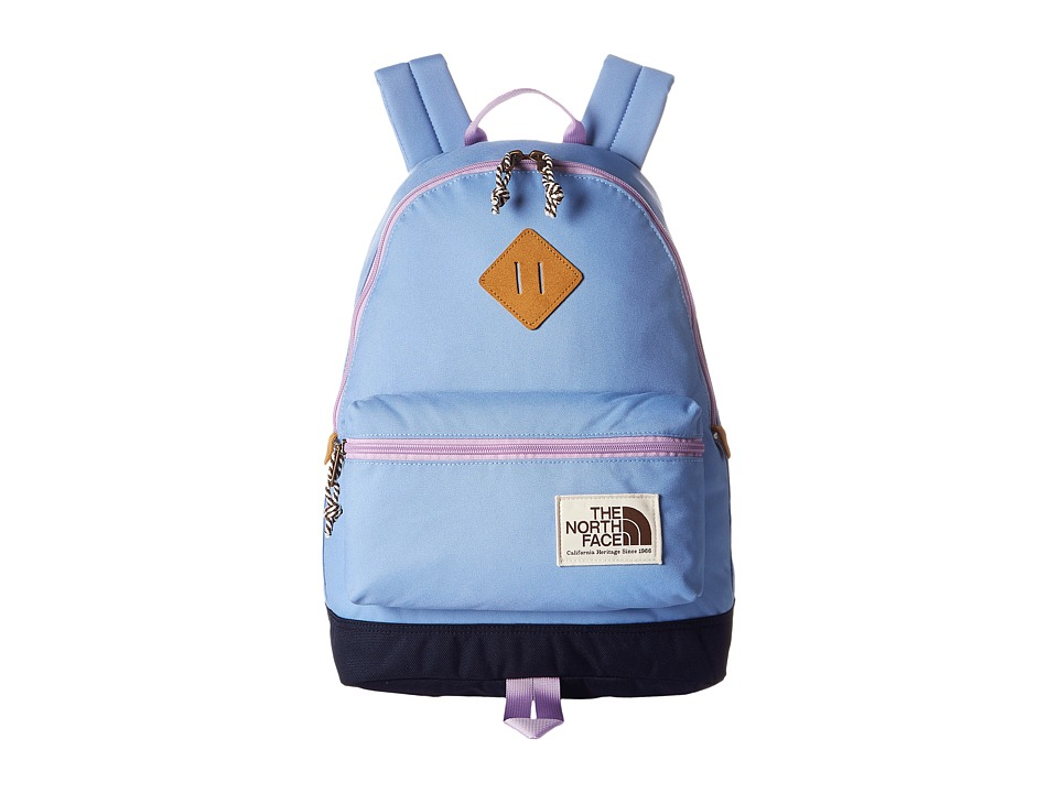 The North Face - Mini Berkeley (Little Kid/Big Kid) (Grapemist Blue/Lupine) Backpack Bags