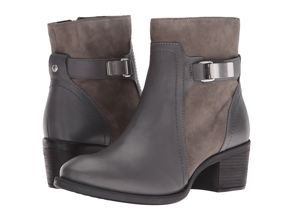Hush Puppies Fondly Nellie (Smoke Leather/Suede) Women
