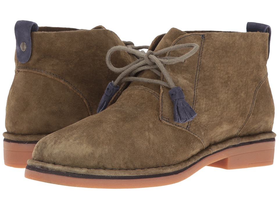 Hush Puppies Cyra Catelyn (Dark Olive Suede) Women