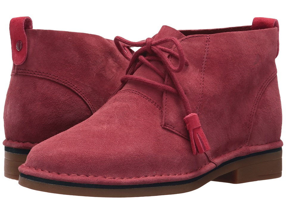 Hush Puppies Cyra Catelyn (Dark Red Suede 1) Women