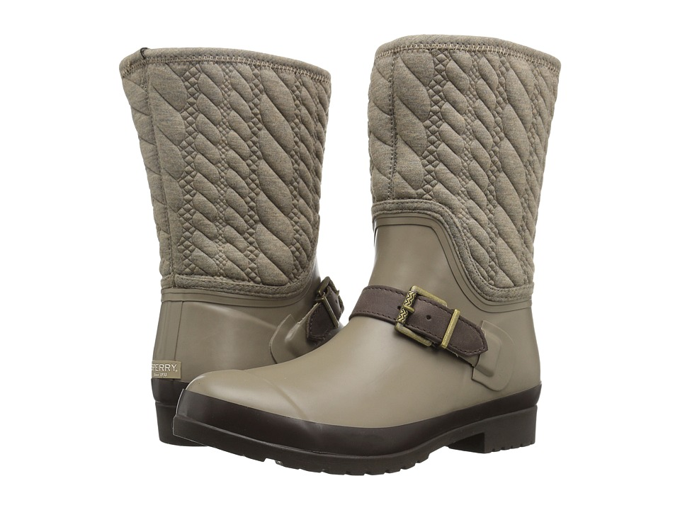 Sperry Top-Sider - Walker Gray Rope Emboss Neoprene (Taupe) Women