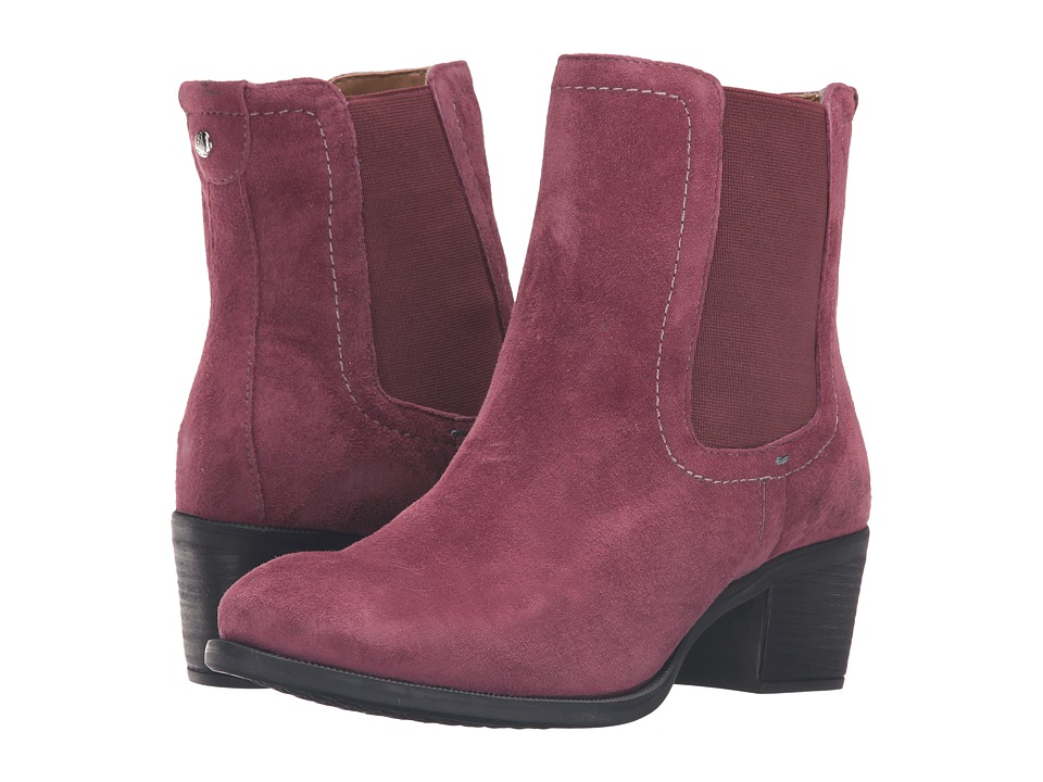 Hush Puppies - Landa Nellie (Wine Suede) Women