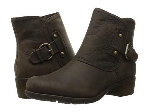 Hush Puppies Proud Overton - Dark Brown WP Leather