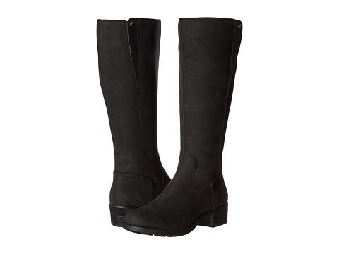 Hush Puppies Polished Overton - Black WP Leather