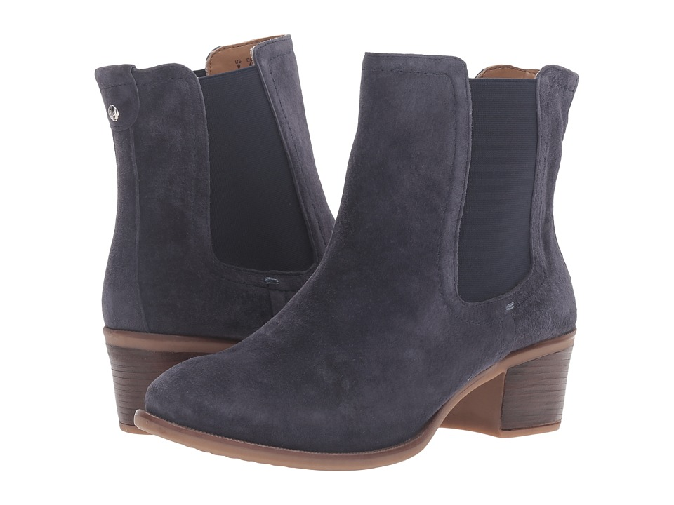 Hush Puppies - Landa Nellie (Navy Suede) Women