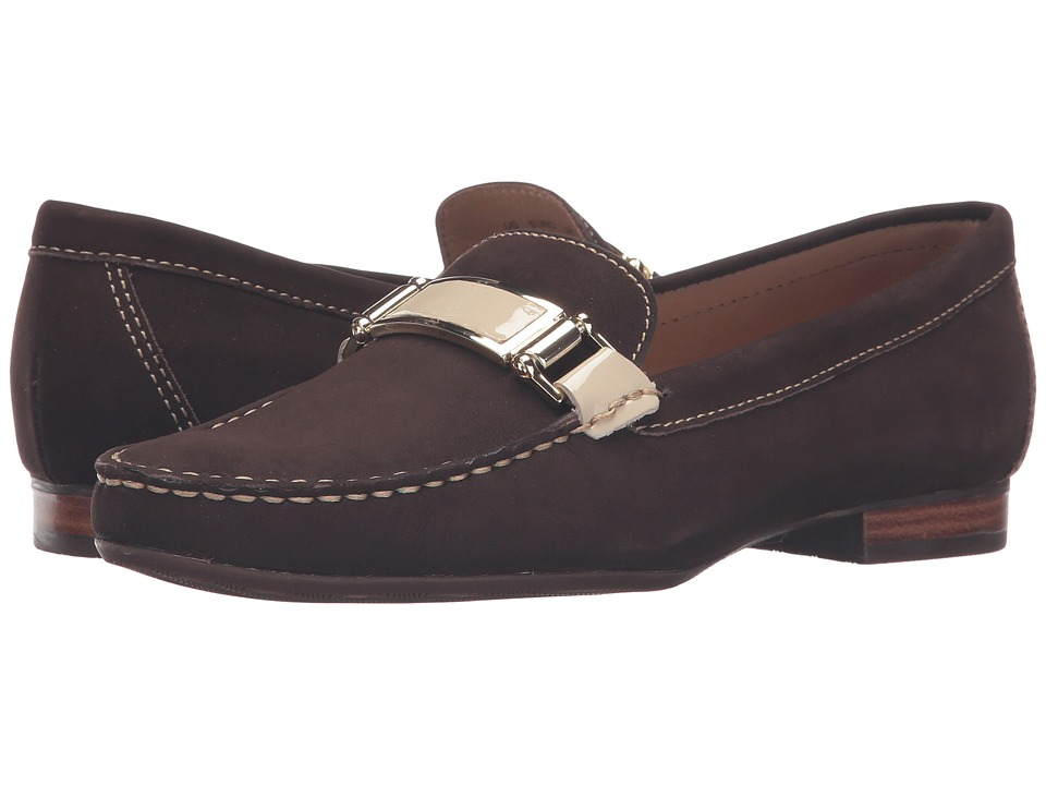 Hush Puppies - Batley Dalila (Brown Nubuck) Women