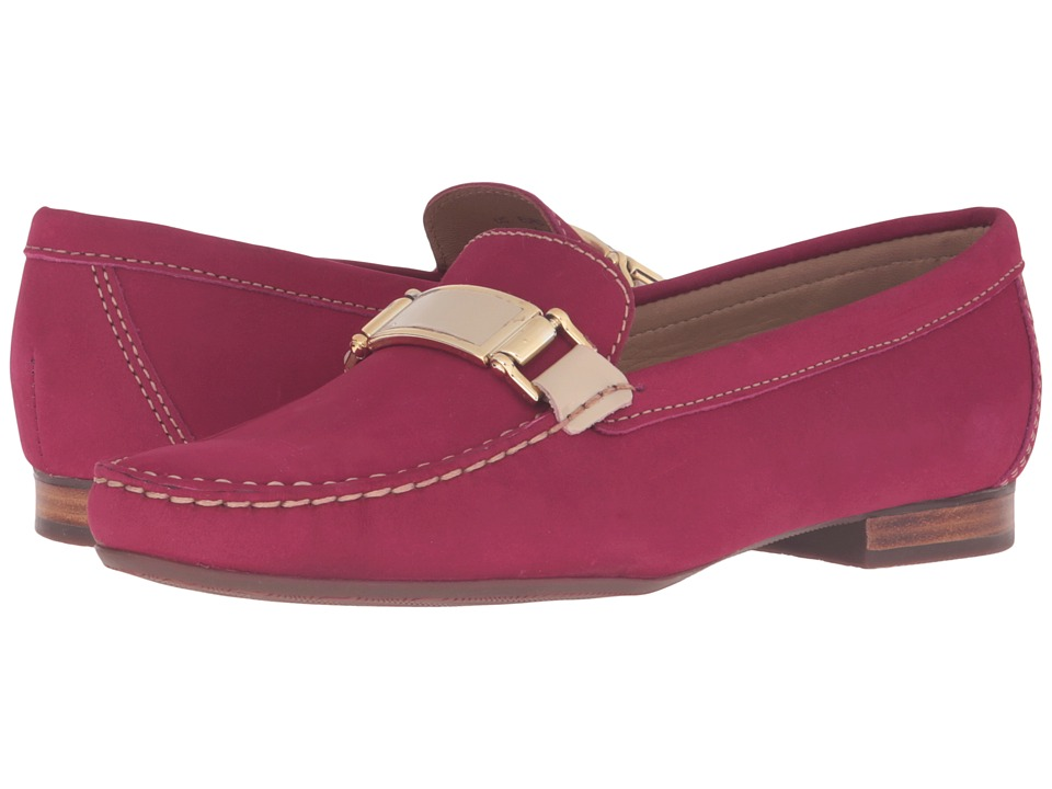 Hush Puppies - Batley Dalila (Berry Nubuck) Women