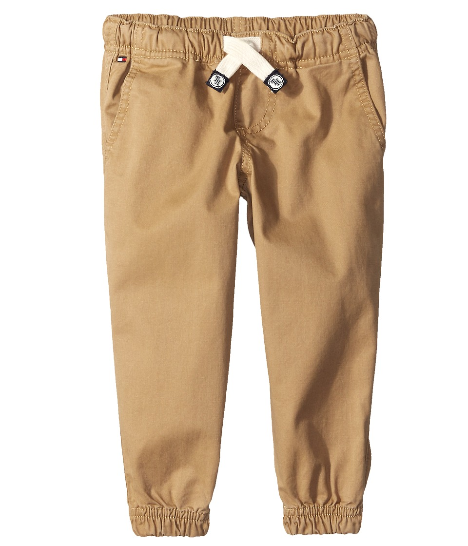 Tommy Hilfiger Kids Basic Pull On Jogger Big Kids TH Chino Boys Casual Pants
