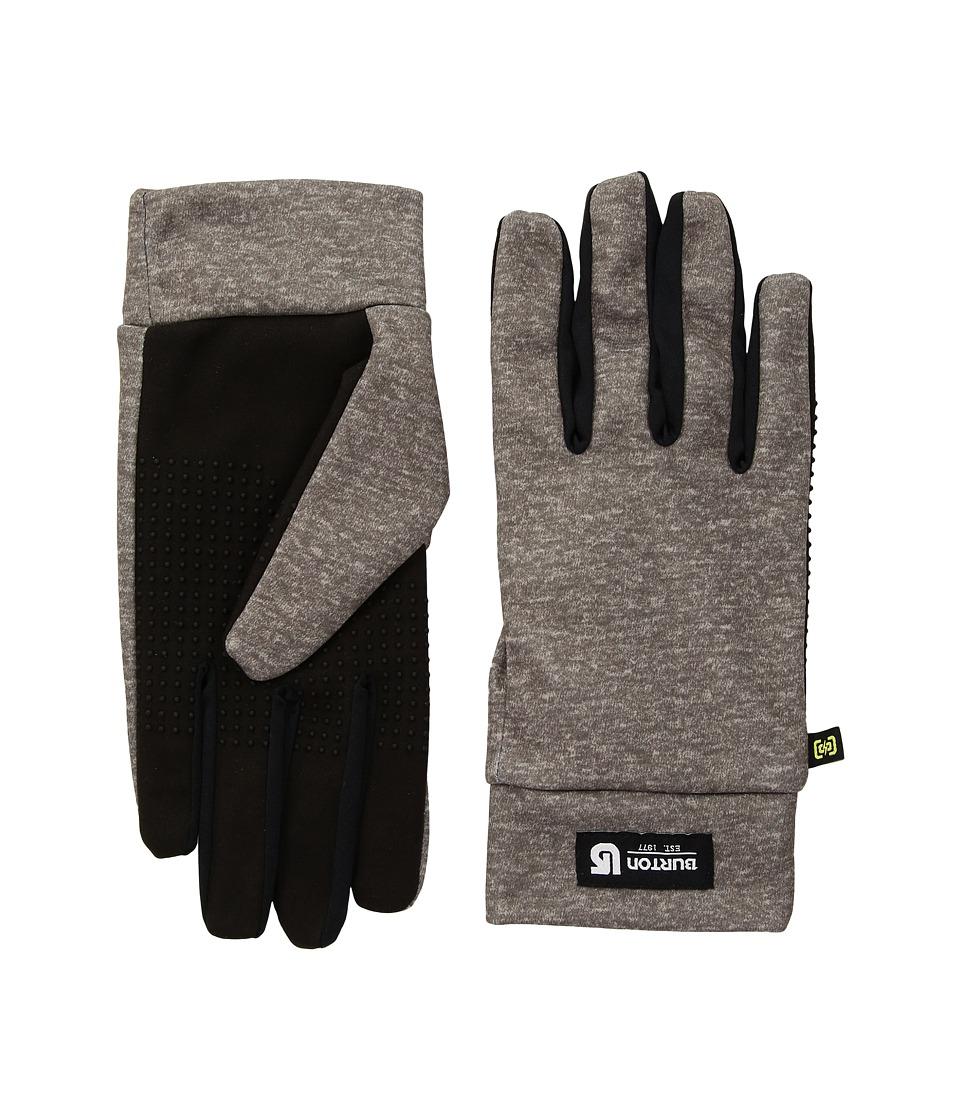 Burton Touch N Go Glove (Heathered Gray) Snowboard Gloves