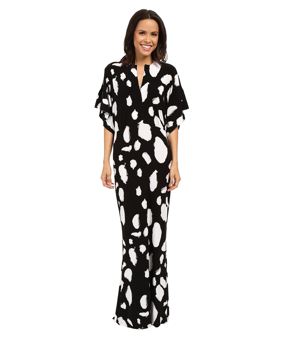 KAMALIKULTURE by Norma Kamali Obie Gown Floaters Womens Dress