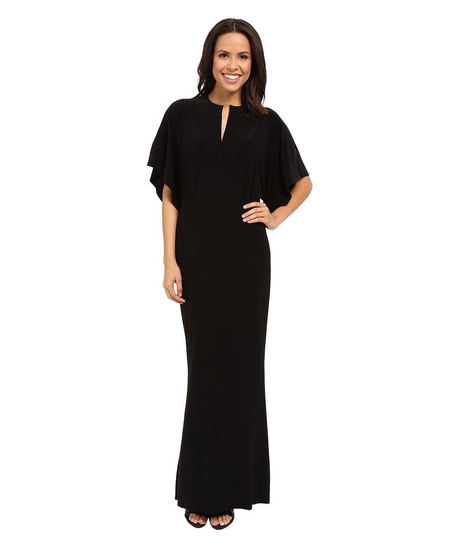 KAMALIKULTURE by Norma Kamali Obie Gown Black Womens Dress