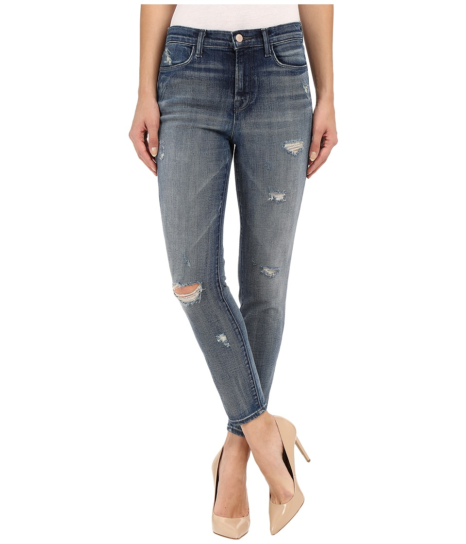 J Brand Alana High Rise Crop in Rendition Rendition Womens Jeans