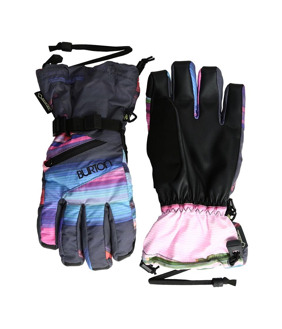 Burton WMS GORE-TEX Glove (Coral Flynn Glitch) Snowboard Gloves