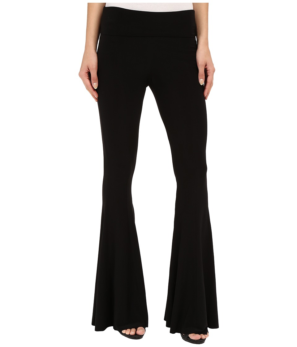 KAMALIKULTURE by Norma Kamali Fishtail Pants Black Womens Casual Pants
