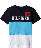 Tommy Hilfiger Kids - Boris Stripe Tee (Toddler/Little Kids)