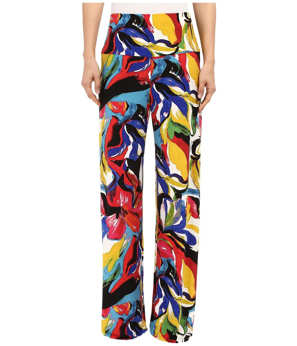 KAMALIKULTURE by Norma Kamali Straight Leg Pants Go Carmen Womens Casual Pants