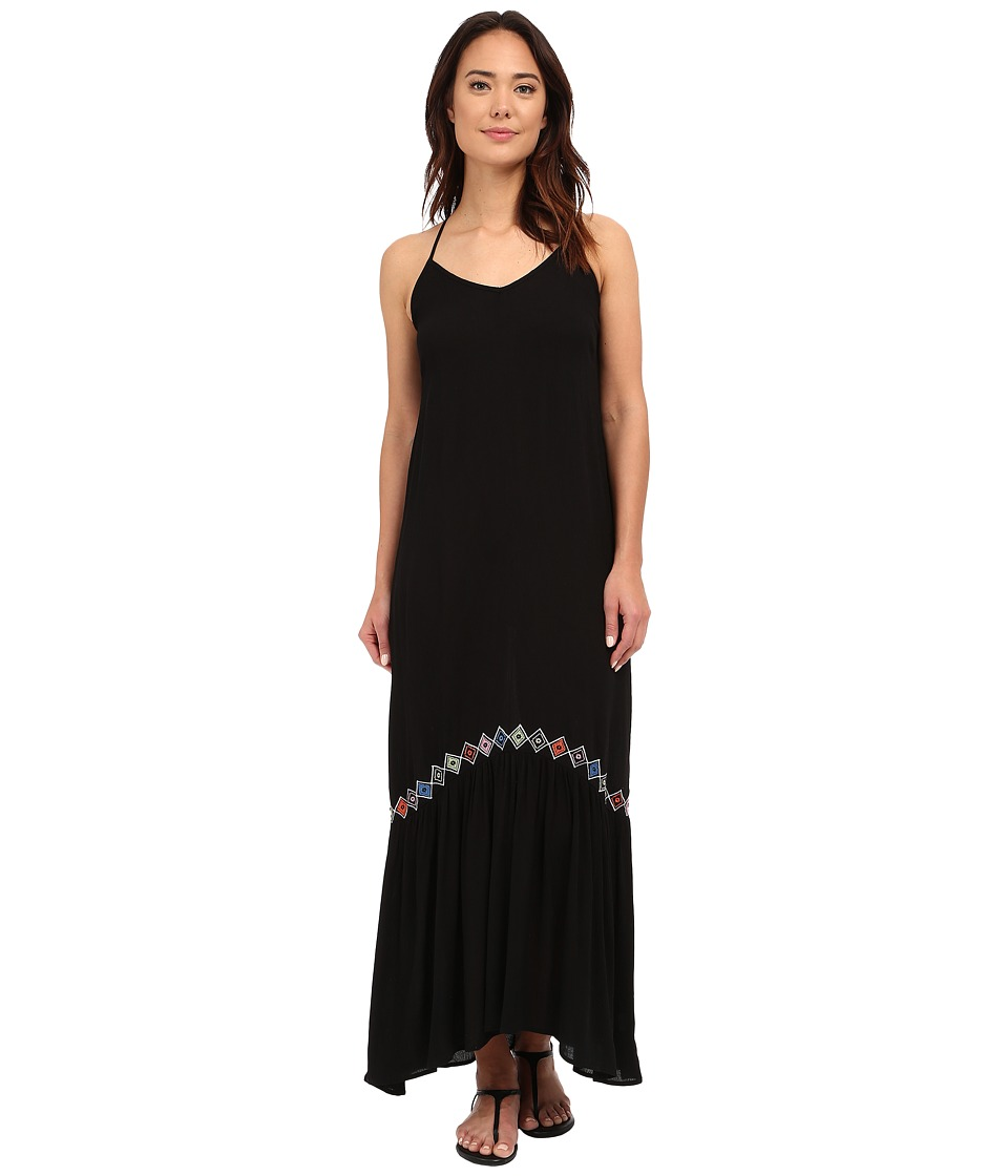 Brigitte Bailey Eleni Maxi Dress Black Womens Dress