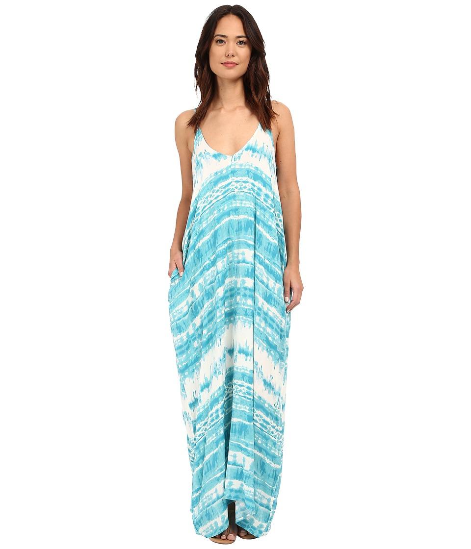 Brigitte Bailey Alvera Dress Ocean Combo Womens Dress