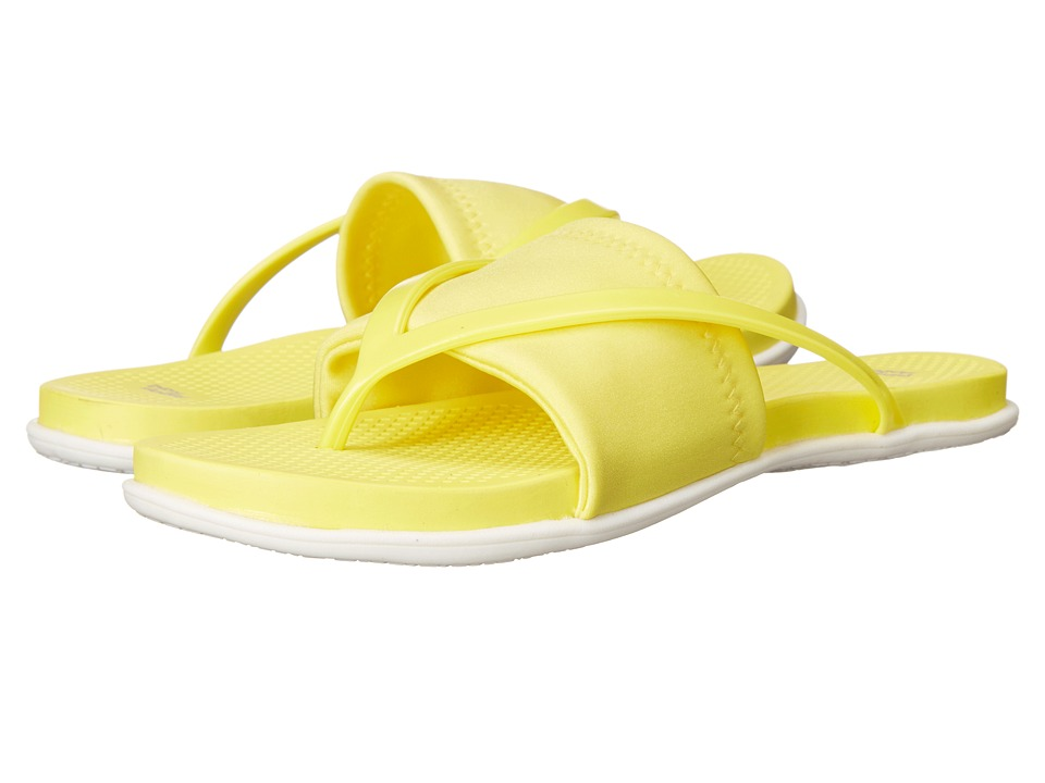 Dirty Laundry Awesome Neon Yellow Womens Sandals