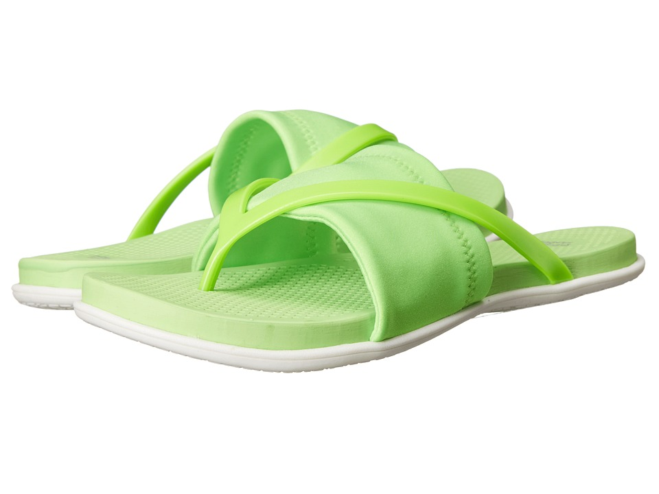 Dirty Laundry Awesome Neon Green Womens Sandals