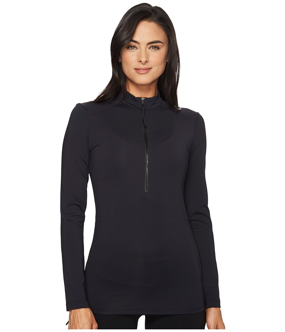 Carve Designs Cruz Rash Guard (Black 1) Women's Swimwear