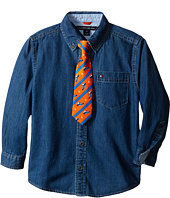 Tommy Hilfiger Kids - Bradford Woven Shirt (Toddler/Little Kids)