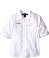 Tommy Hilfiger Kids - Americana Long Sleeve Shirt (Toddler/Little Kids)