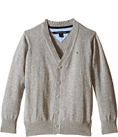 Tommy Hilfiger Kids - Long Sleeve Liam Cardigan (Toddler/Little Kids)