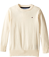 Tommy Hilfiger Kids - Long Sleeve Alan Crew Neck Sweater (Toddler/Little Kids)