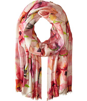 Bindya - Peony Floral Cashmere/Silk Wrap